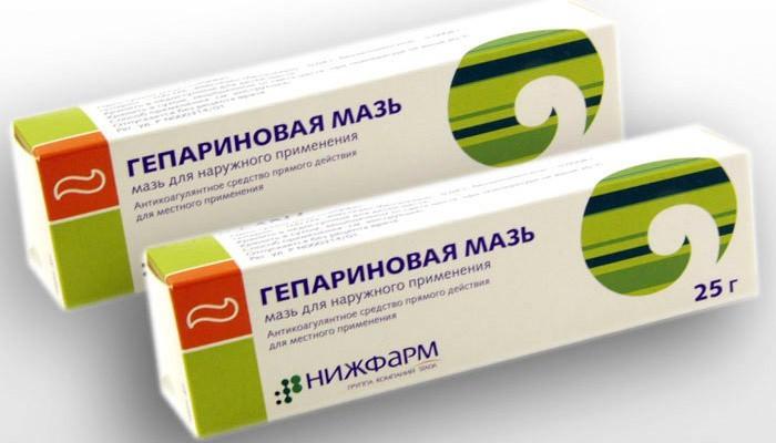 Гепариновая мазь является частью комплексной терапии при геморрое