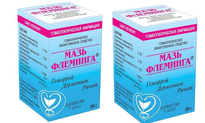 Мазь Флеминга - полностью натуральное средство для обезболивания геморроя