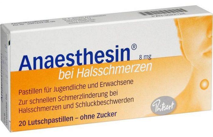 Суппозитории с анестезином для лечения геморроя