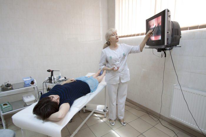 Диагностика должна проводиться опытным специалистом