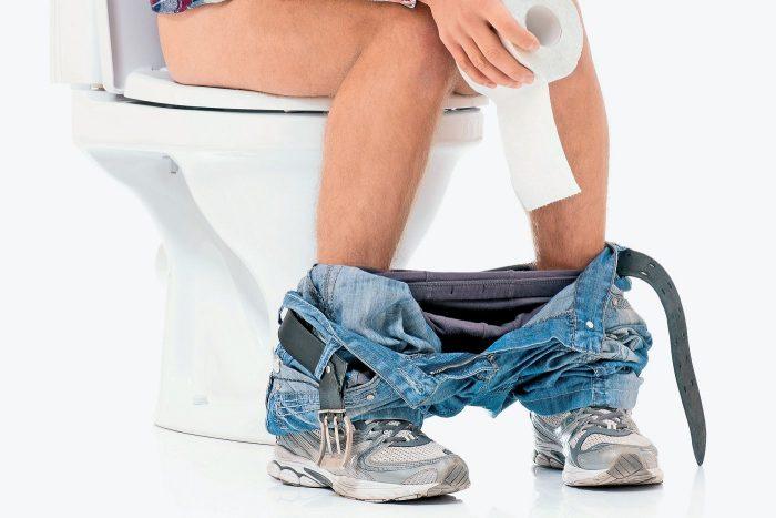 Жжение часто может возникать в следствие запоров или диареи