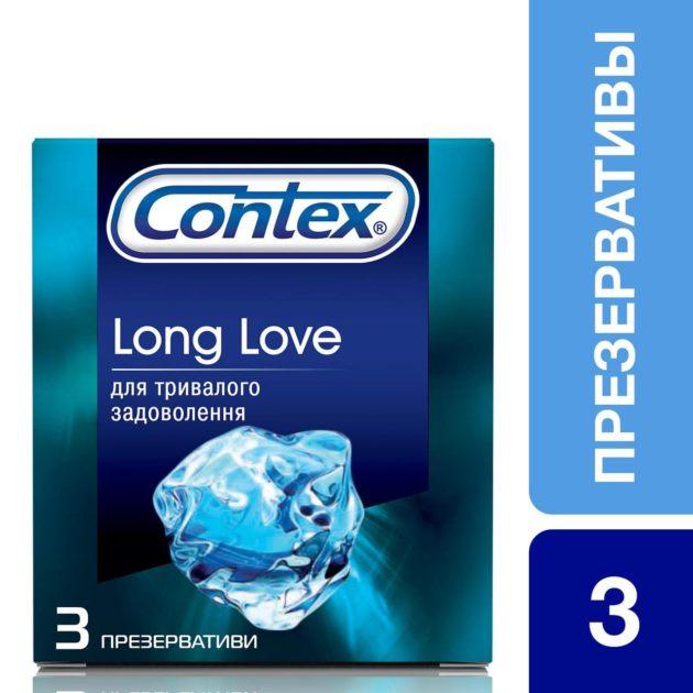 Презервативы Контекс Лонг Лав