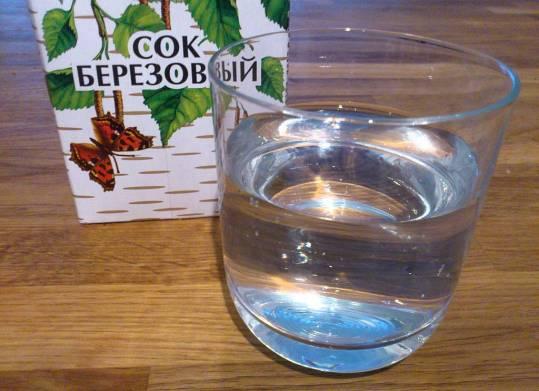 Березовый сок и гастрит