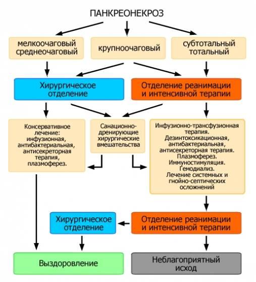 Что такое панкреонекроз