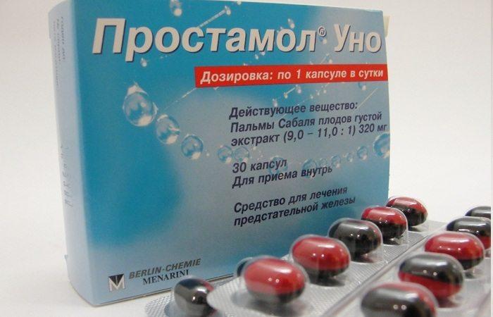 Эффективность лекарства от простатита «Простамол»