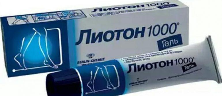 Гель Лиотон 1000 при геморрое: инструкция применения, показания, противопоказания, стоимость и отзывы пациентов