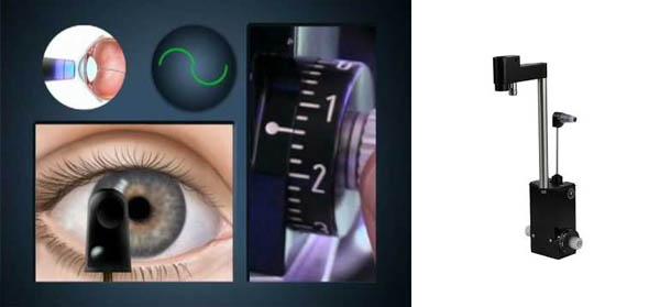 Измерение внутриглазного давления. Бесконтактный тонометр внутриглазного давления