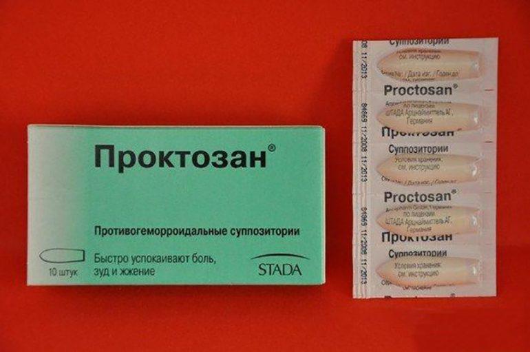 Как использовать от геморроя свечи Проктозан? Состав, 7 леченых свойств, инструкция применения и отзывы пациентов