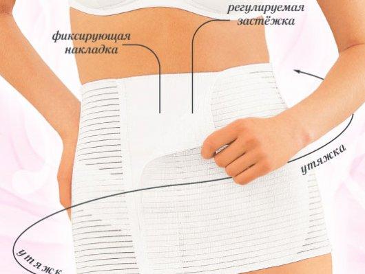 Как правильно подобрать бандаж после операции на брюшной полости