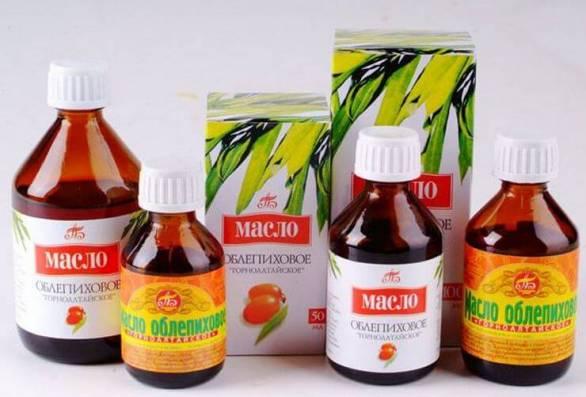 Как принимать облепиховое масло при лечении гастрита