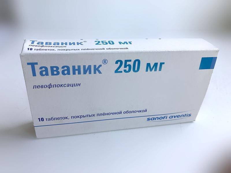 Лечение простатита Таваником: инструкция по применению