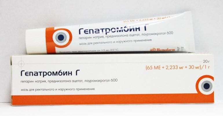 Место мази Гепатромбин Г в комплексном лечении геморроя: 8 показаний к применению, противопоказания и побочные эффекты