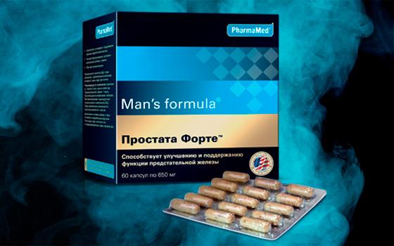 Что такое Простата Форте от Менс формула, инструкция и аналоги