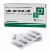 Инструкция как применять метилурациловые свечи