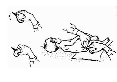 Как сделать клизму новорожденному?