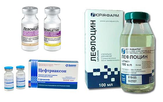 Какой антибиотик колят при простатите барсучий жир лечение при простатите