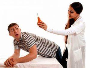Лечим в домашних условиях — клизма при простатите с ромашкой и димексидом ЛечениеБолезней.com