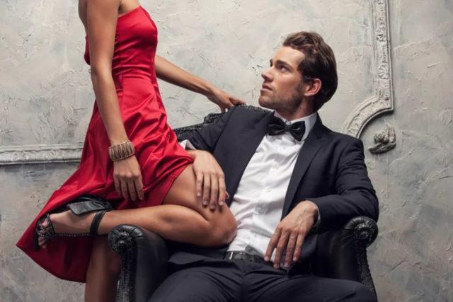 Влечение женщины к мужчине