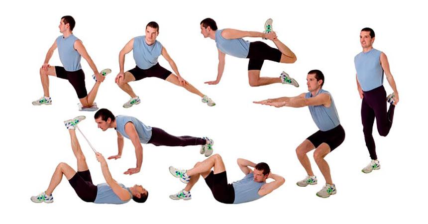 Физические упражнения для повышения потенции
