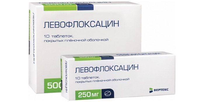 Левофлоксацин при простатите: способы лечения