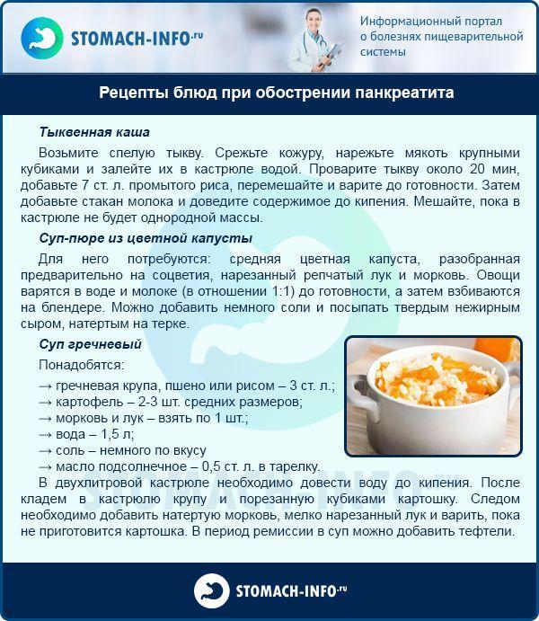 Диета при холецистите рецепты блюд