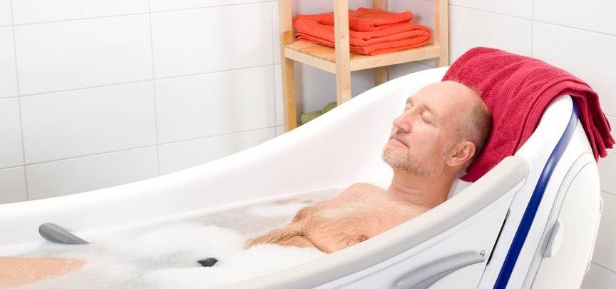 Польза горячих ванн при простатите