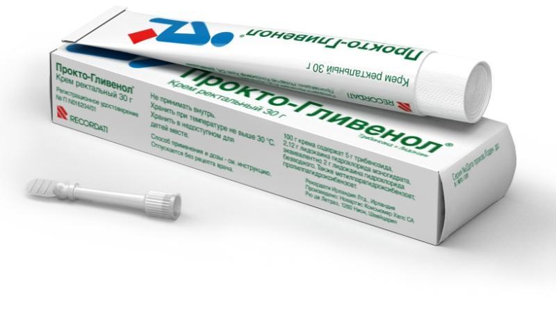 Препарат Прокто-Гливенол: инструкция при лечении геморроя и отзывы