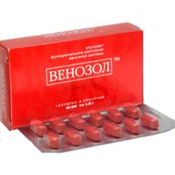 Венозол при геморрое