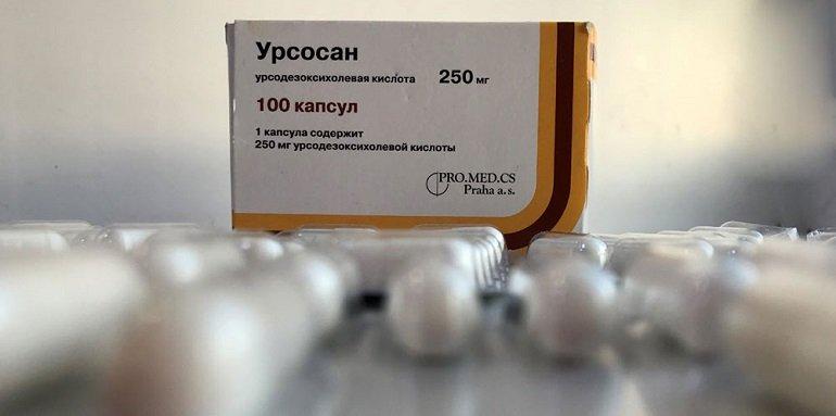 Инструкция по применению Урсосана при панкреатите
