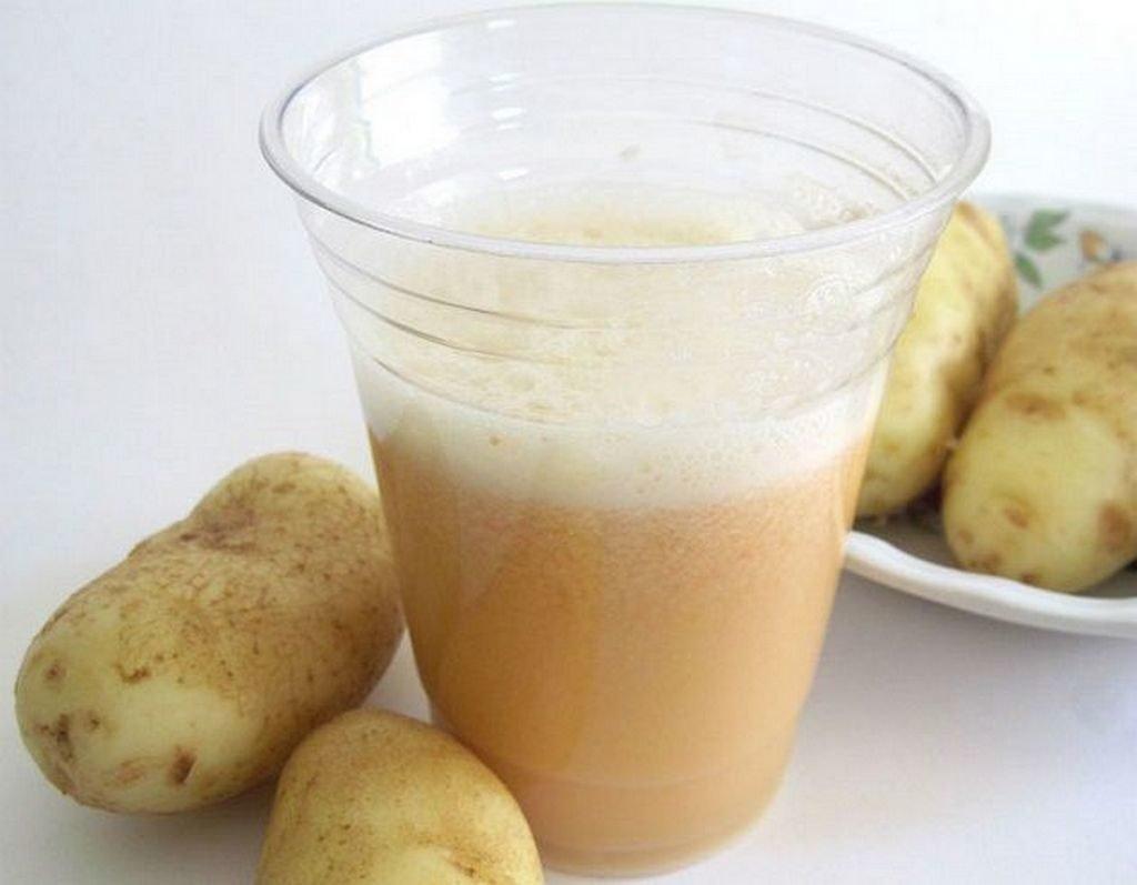 Картофельный сок при язве желудка: схема лечения и противопоказания