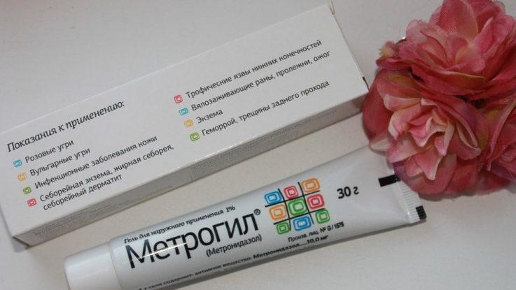 Применение геля Метрогил в лечении геморроя