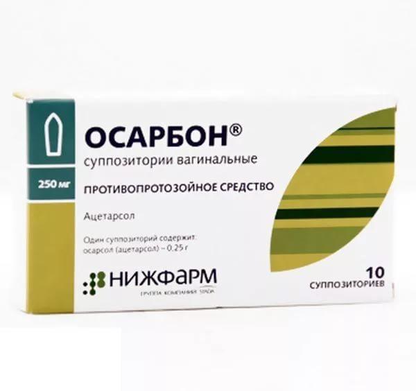 Свечи от трихомониаза для женщин: основные препараты, их действие