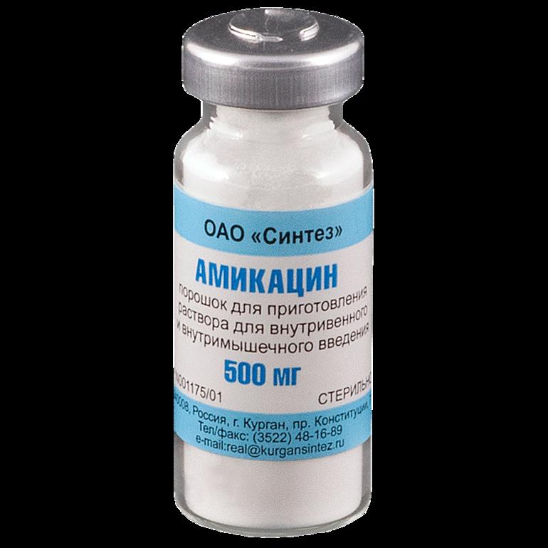 Амикацин: особенности применения, состав, побочные эффекты