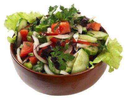здоровая пища - овощной салат