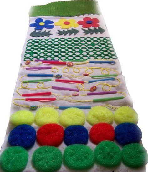 красочный коврик для массажа детских ножек