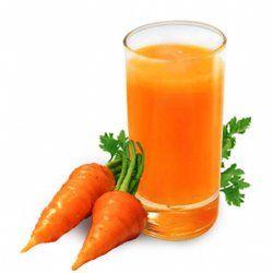 морковка, морковный сок, улучшают зрение