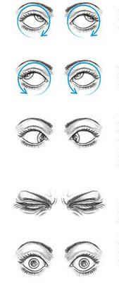 улучшение зрения упражнения