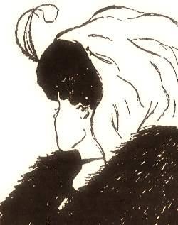 девушка или старушка оптическая иллюзия