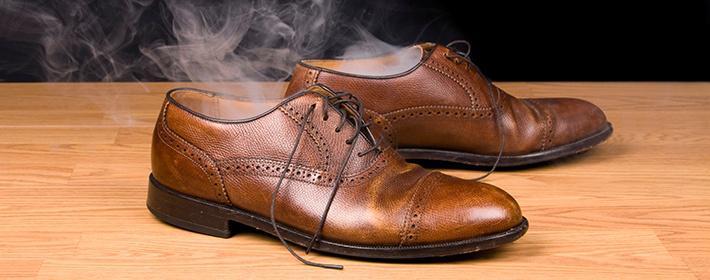 Фото: уход за обувью при гипергидрозе