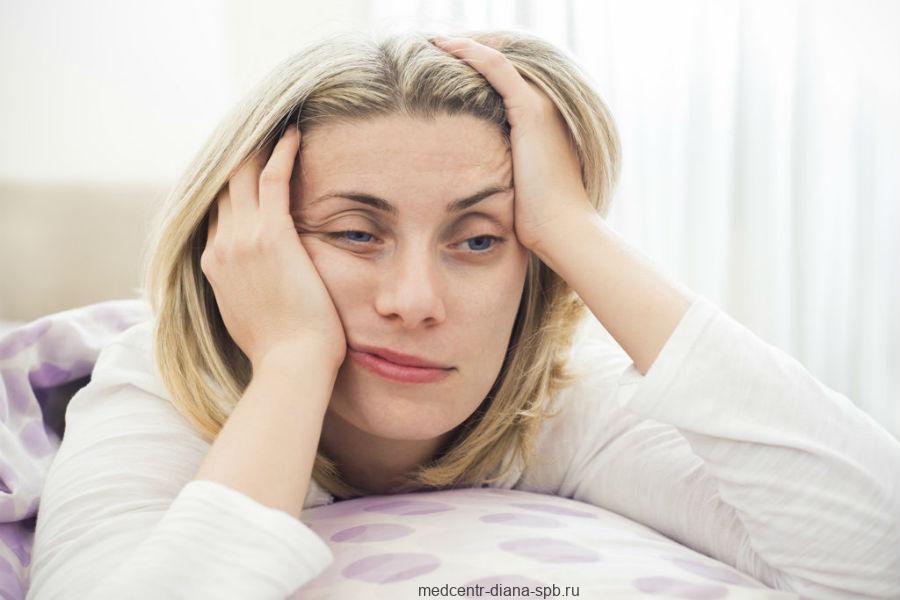 Бессоница в период менопаузы