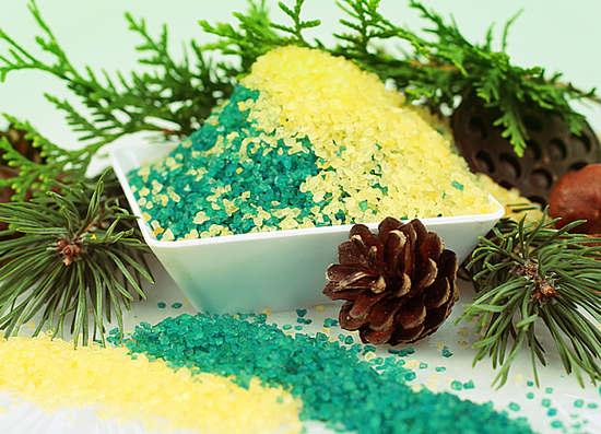 хвойно-солевые ванны