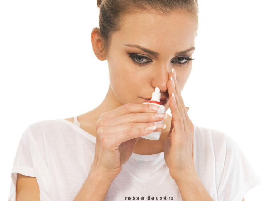 Спрей для носа от заложенности