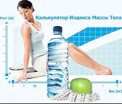 индекс массы тела - расчет ИМТ