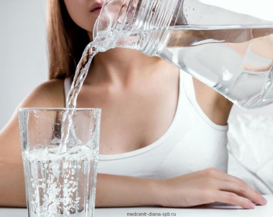 Чрезмерное потребление жидкости
