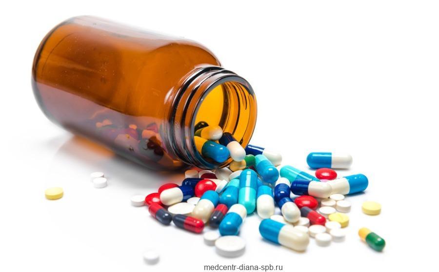 Системная терапия в таблетках