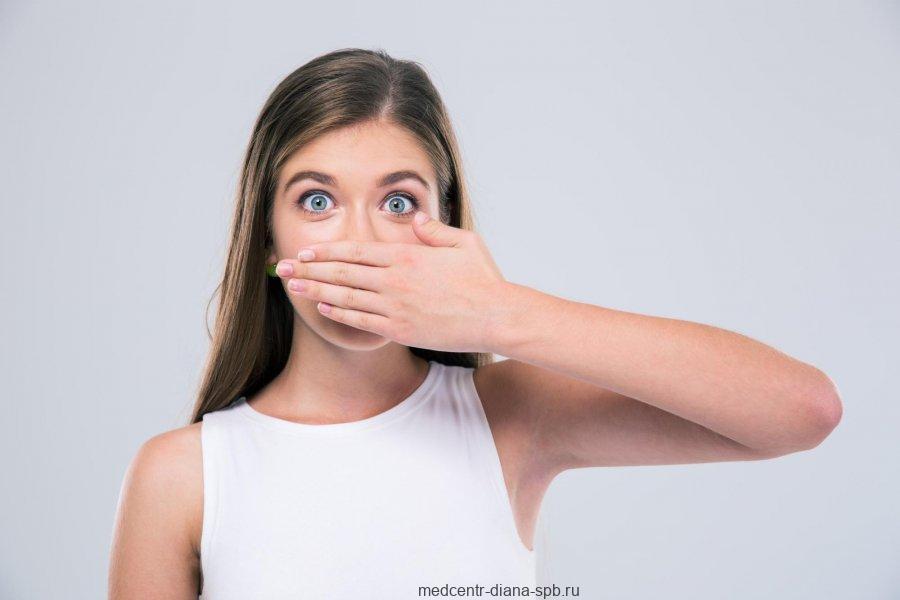 Неприятный запах изо рта – галтиоз