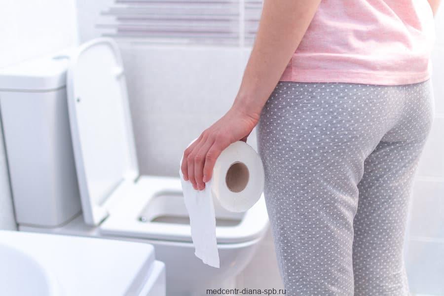 Симптомы заболеваний пищеварительной системы — недержание стула